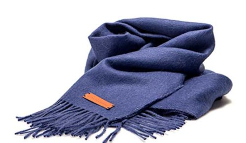 Wool/cotton - scarf